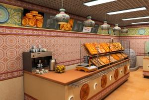 Полный комплекс услуг по созданию проекта кафе, фастфуд.